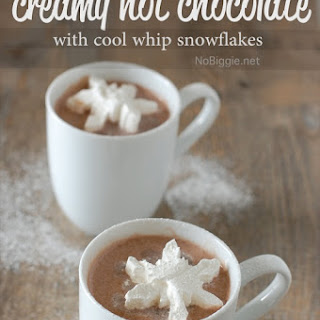 Hot Chocolate Drink Cool Whip Recipes.
