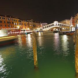 Rialto Bridge by Wilson Beckett - Buildings & Architecture Bridges & Suspended Structures (  )