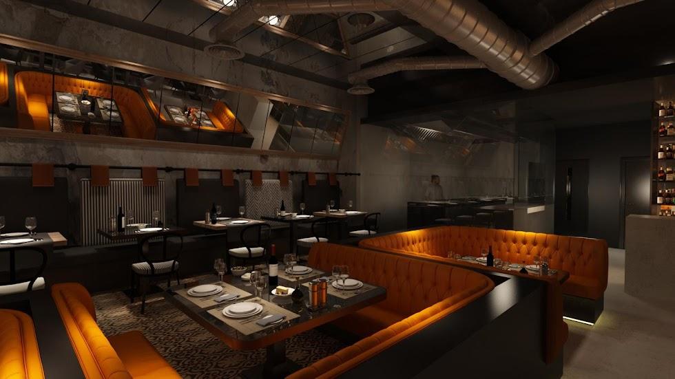 Así será Alquímico, el nuevo restaurante de la Puerta Purchena.