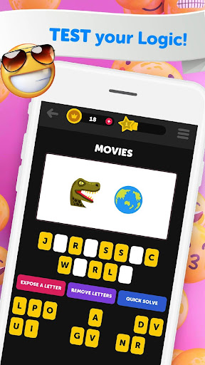 Guess The Emoji - Trivia and Guessing Game! 9.39 Screenshots 4