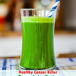 Healthy Cancer Killer Green Juice