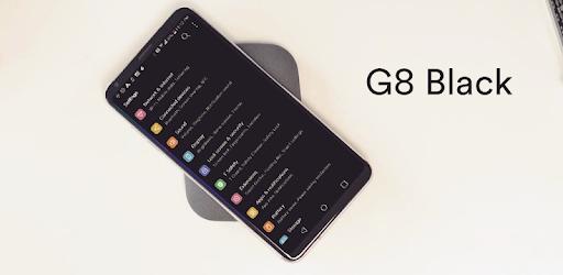 G8 Black Theme for LG V30 G6 V20 G5 Oreo - Apps on Google Play