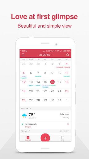 微曆:日曆 天氣 記事 提醒 行事曆 老黃曆 鬧鐘