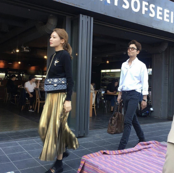 sooyoung jung kyung ho instagram 1