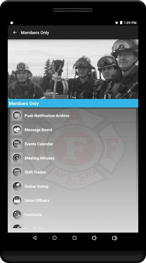 IAFF 2210- screenshot