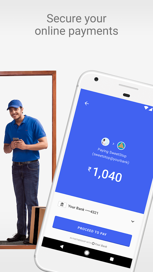 Tez – A new payments app by Google- screenshot
