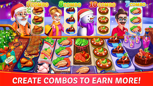 Christmas Cooking : Crazy Restaurant Cooking Games 1.4.36 screenshots 5