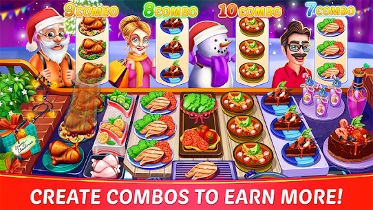 Christmas Cooking: Crazy Restaurant Mod Apk (Unlimited Money) 5