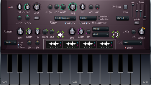 Nexus keyboard: virtual piano 1.0.1 screenshots 1