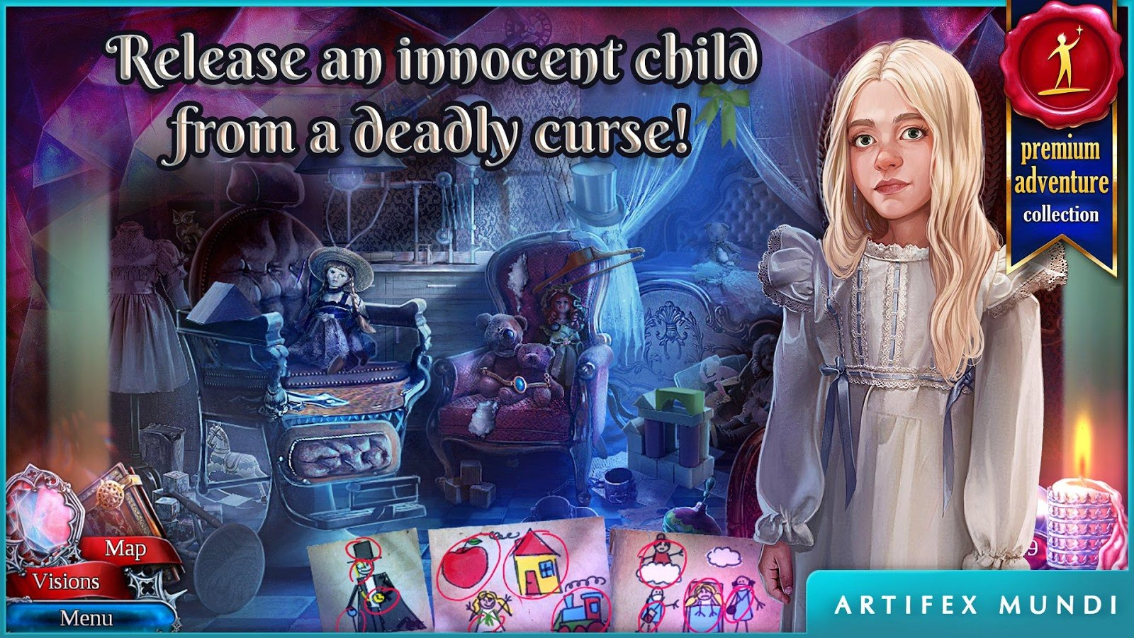 Scarlett Mysteries: Cursed Child- screenshot