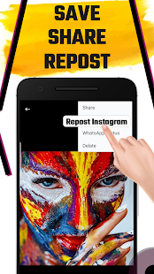 Photo and video downloader for Instagram
