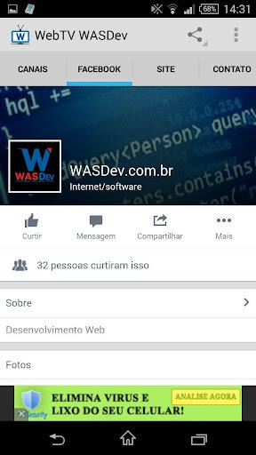 WebTV WasDEV