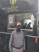 Bus driver, Christopher Ncube.