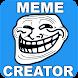 ミームジェネレータ -  memes&Funny picsを作成