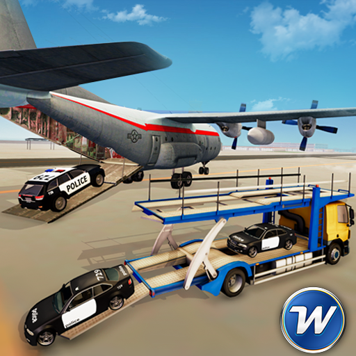 Police Plane Car Transport: Police Games 2018 (game)