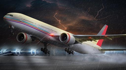 Flight Plane Simulator 3D : Airplane Flying Sim apkpoly screenshots 2