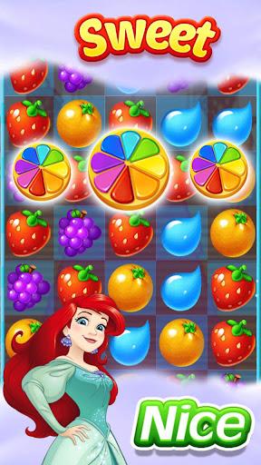 New Fruit Match 3 : Princess Fruit Garden Match ss3
