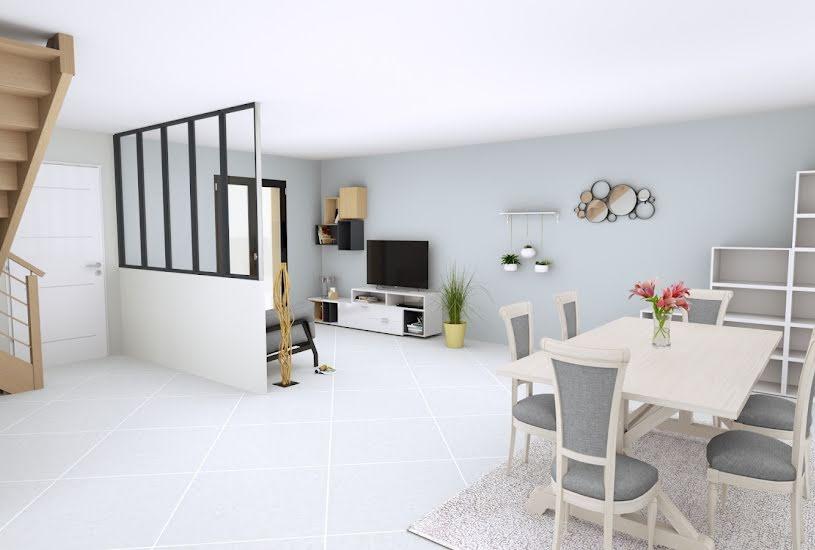 Vente Terrain + Maison - Terrain : 352m² - Maison : 134m² à Melun (77000)