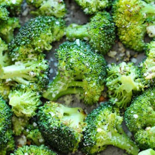 Garlic Parmesan Roasted Broccoli.