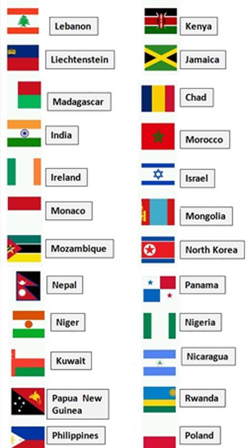 Answers Logo Quiz World Flags