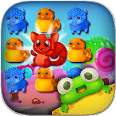 Jelly Pets: Amazing Match 3