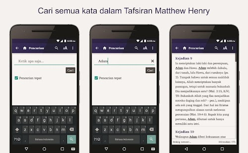 Tafsiran Matthew Henry- screenshot thumbnail