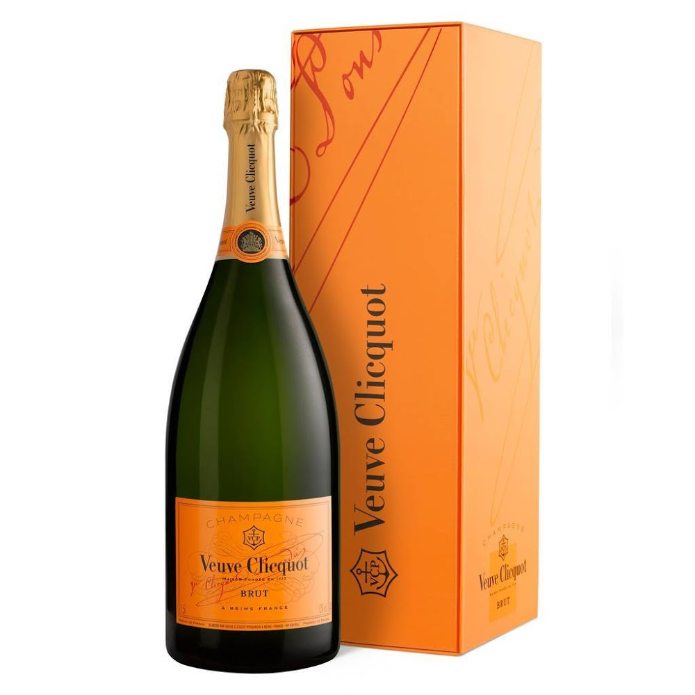 best-champagne-brands-india-Veuve Clicquot, Brut Yellow Label NV-image