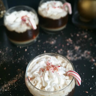 Warming Brandy & Peppermint Coffee
