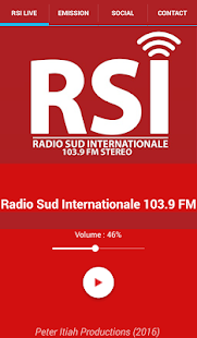 Radio Sud Internationale (RSI)- screenshot thumbnail