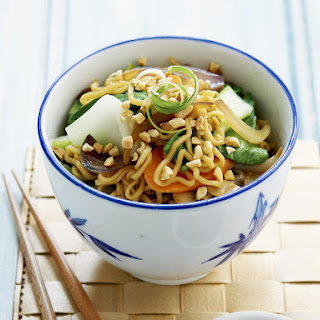 Vegetable Noodle Stir-Fry.
