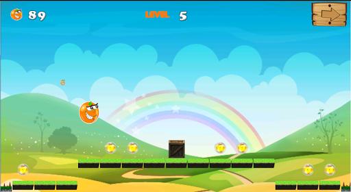 Orange happy world