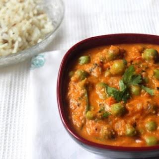 Green Peas Butter Masala Recipes