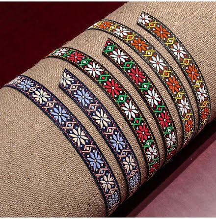 Dekorationsband 15mm - flera färger