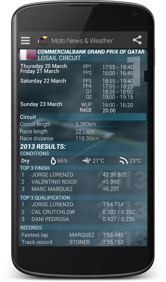 GP News & Weather AdFree 2016- screenshot