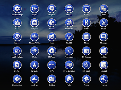 Enyo Blue - Icon Pack screenshot 8