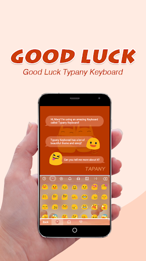 Good Luck Theme&Emoji Keyboard  screenshots 2