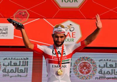 """Gaviria bedankt één ploegmaat in het bijzonder na ritzege in UAE Tour: """"Eén van de sterkste renners ter wereld"""""""