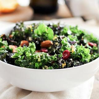 Make-Ahead Cranberry Orange Kale Salad.