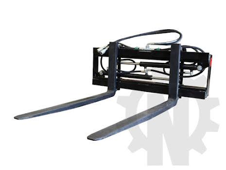 Hydrauliskt pallgafflar   1200mm   Nykyrka Maskiner