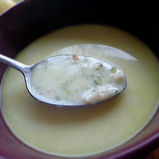 Oatflakes And Courgette Soup.