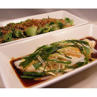 Steamed Fish Chinese Style.