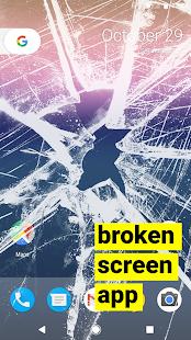 prasklý displej broken screen prank ? - náhled