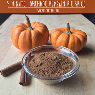5 Minute Homemade Pumpkin Pie Spice