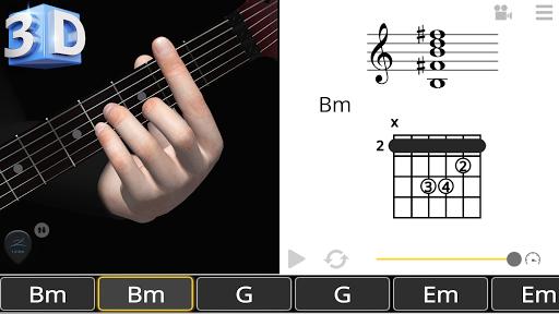 Guitar 3D - Basic Chords  screenshots 7