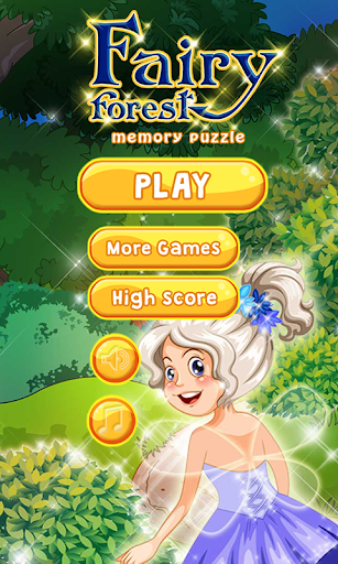 Forest Fairy Memory Puzzle