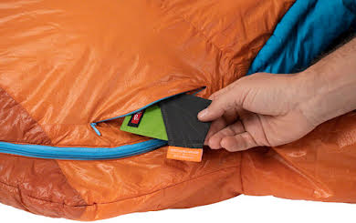 NEMO Kyan 35 Sleeping Bag, Primaloft Silver Synthetic Insulation: Regular, Amber/Alpine alternate image 1