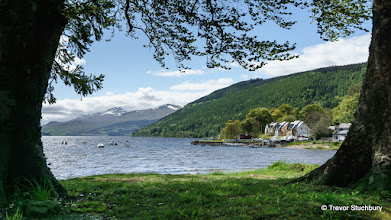 Photo: Ben Lawers and Loch Tay from Kenmore