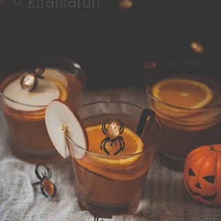 Apple Bourbon & Pumpkin Sangria.