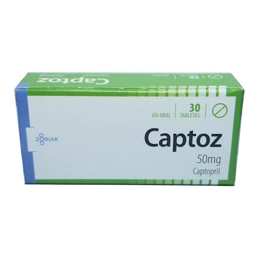 Captopril Captoz 50mg 30Tab