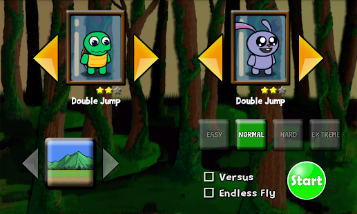 Turtle Rabbit Runner- screenshot thumbnail